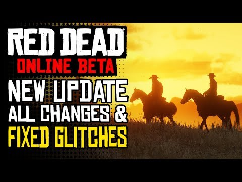 Red Dead Redemption 2 NEW UPDATE - All Changes & Fixes | RDR2 Online Update 1.04 GLITCH FIXES & MORE