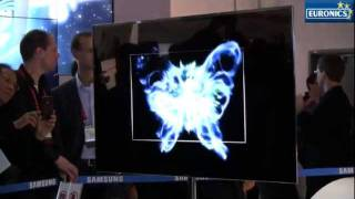 CES 2012 - Samsung Tv Super Oled 55