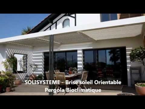 r alisations solisysteme brise soleil orientable pergola bioclimatique youtube. Black Bedroom Furniture Sets. Home Design Ideas