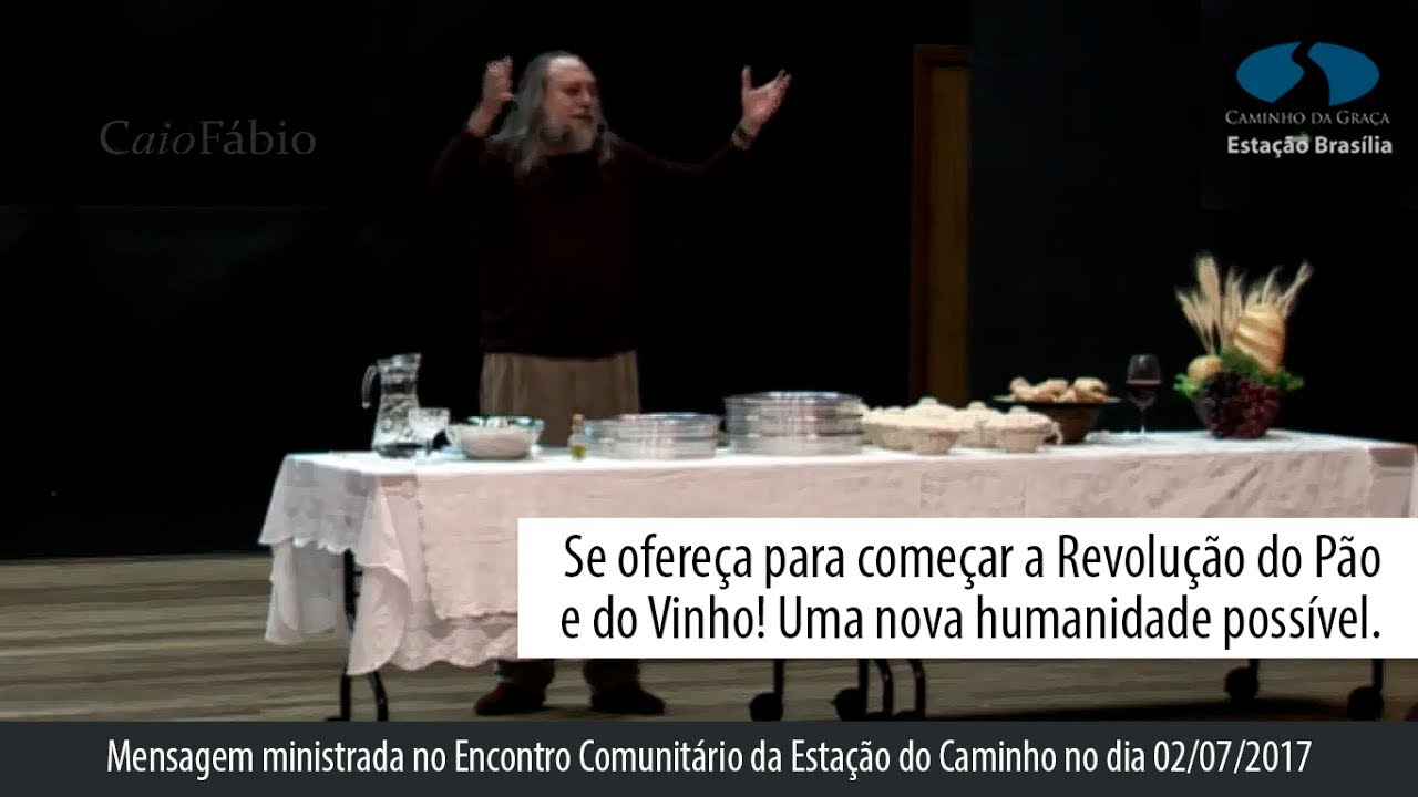 Se ofereça para começar a Revolução do Pão e do Vinho! Uma nova humanidade possível.