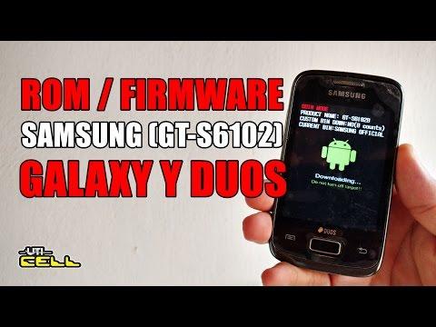 Instalando Rom no Galaxy Y Duos (GT-S6102) #UTICell