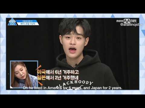 [ENG] I.O.I reacts to Lee Daehwi of Produce 101 Season 2