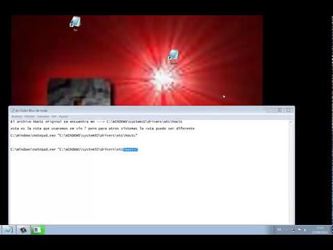 Como modificar el archivo hosts en windows o editar el archivo host facilmente