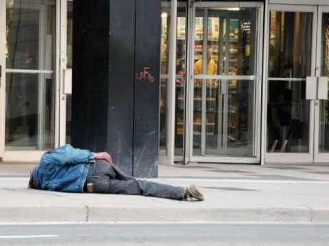 CANADA visit visite visita homeless SDF indigente Pictures,Photos, fotos-Toronto