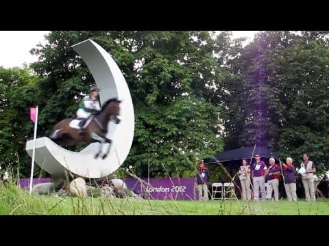 Jumps - Olympic Cross Country - London 2012 Equestrian Eventing