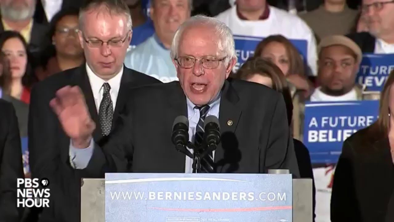 Sanders: 'Are you guys ready for a radical idea?'