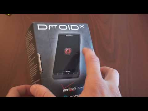 Video: Motorola Droid X Unboxing