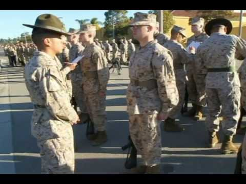 Company C Senior Drill Instructor Inspection