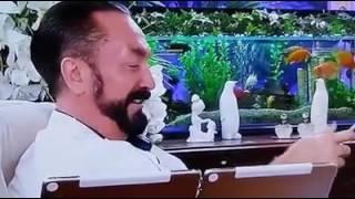 Adnan Oktar canlı yayında resmi olmayan İtalyan