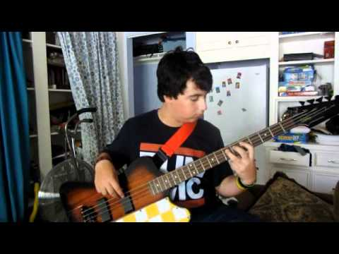 Alex Bagheri playing funky bass - June 2012