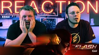 "The Flash FINALE REACTION ""Fast Enough"" 1x23"
