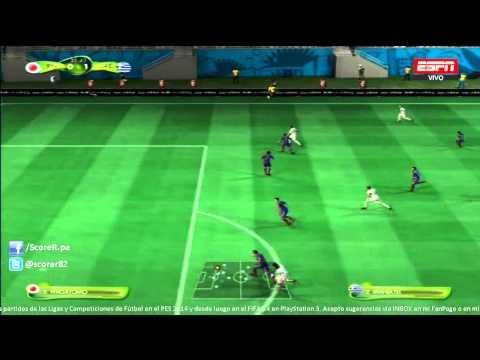 EA SPORTS 2014 FIFA WORLD CUP - Japan vs Greece - Grupo C @ Simulacion PS3