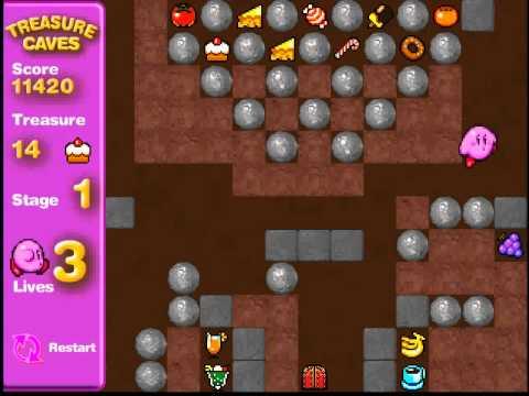 Kirby Treasure Caves