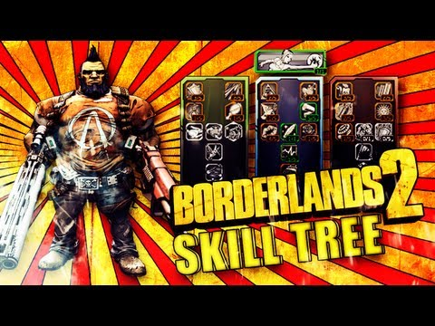 Borderlands 2 - Salvador Gunzerker Skill Tree [German/Deutsch] Analyse und Aufbau