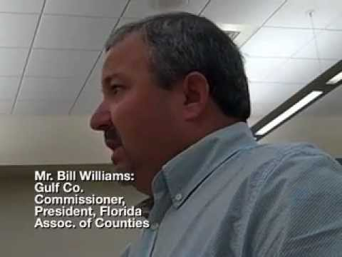 Franklin Co. BOCC Meeting 8-1-12: Gulf Co. Commissioner William speaks re: RESTORE Act