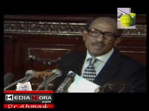 الرئيس محمد انور السادات نحن اصل العرب