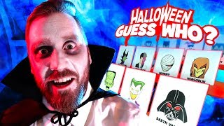 GIANT GUESS WHO Board Game! (Halloween Villains Edition) KIDCITY