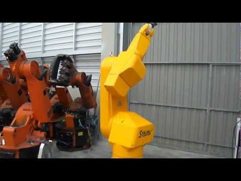 Staubli RX170 HP industrial robot with CS8 controller