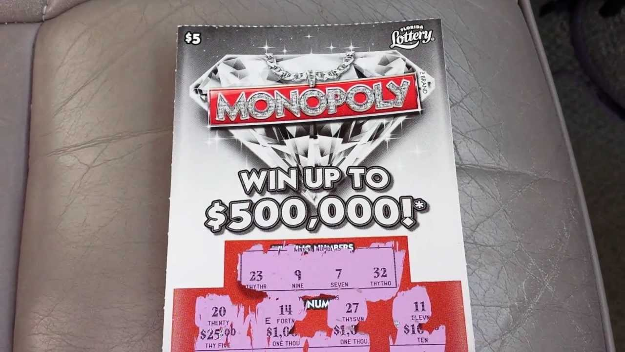 how to play monopoly millionaire scratch off