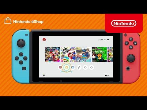 How to use Nintendo eShop (Nintendo Switch)