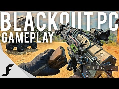 Call of Duty Blackout PC Gameplay + First Impressions ( COD BR )