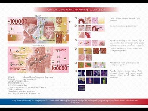 New Indonesian Bank Notes (Uang Baru Rupiah Emisi 2016)
