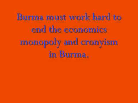 Sanction Burma Updated News