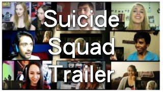 Suicide Squad Trailer 3 Reaction Compilation / Mashup