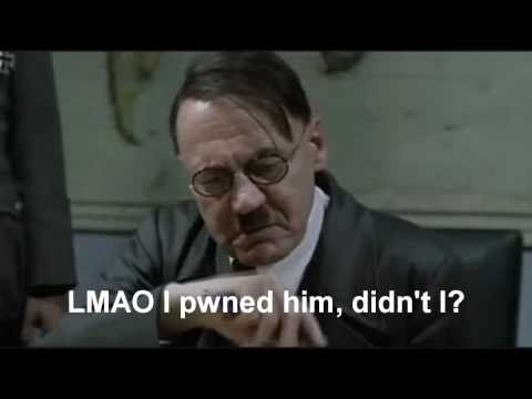 Hitler Reacts to Losing the Epic Rap Battle of History Music Videos