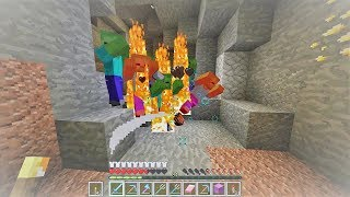 Minecraft sinh tồn 1.13.2 #51: Về Quê Tìm Kim Cương Được Chào Đón Quá Mức Quy Định