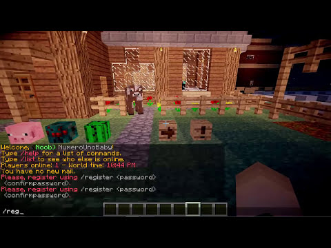 Minecraft Plugin   LOG IT! (Players login with a created password)   Tutorial