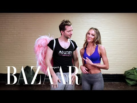 The Real Victoria's Secret Angel Workout