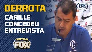 CARILLE FALA APÓS DERROTA NA COPA DO BRASIL!