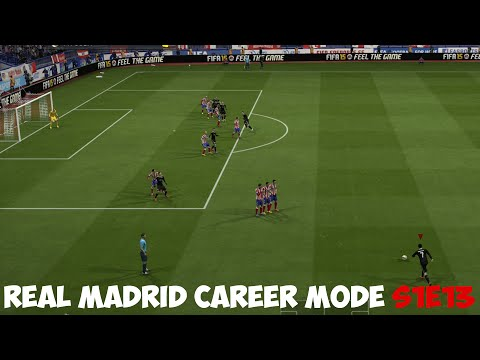 FIFA 15 Real Madrid Career Mode - The Madrid Derby - S1E13