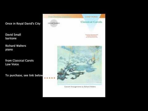 Hal Leonard - Once In Royal Davids City