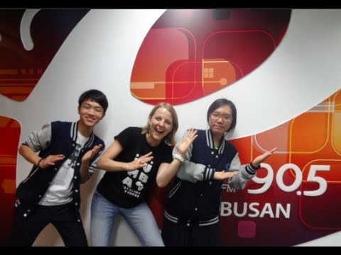 Busan E-FM Radio Interview w/ Callie and her students Zorro & Areck