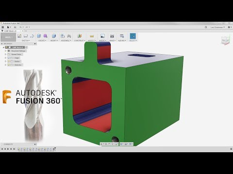 CAM Stock Setup For The Win! — Fusion 360 Tutorial — #LarsLive 126