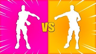 Floss V1 vs. Floss V2 [Fortnite Old vs New]