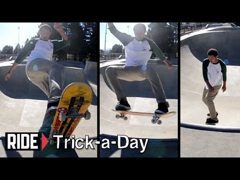 How-To Skateboarding: Switch Frontside Blunt with Andrew Langi
