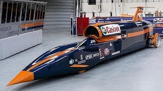 Raketenauto der Superlative: Bloodhound SSC - focus