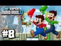 New Super Mario Bros U Wii U - Part 8 World 6-1, 6-2, 6-Tower, 6-3, 6-4, & 6-5