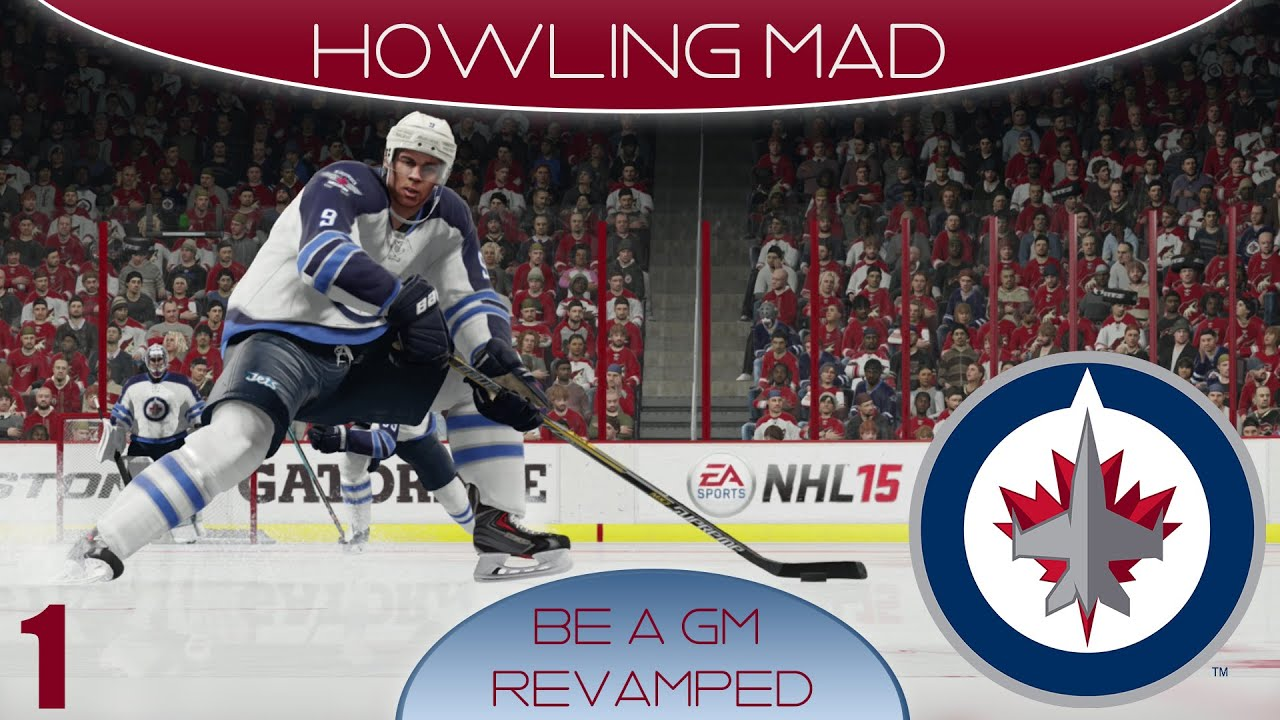nhl winnipeg jets wallpaper NHL 15 Winnipeg Jets GM Mode Howling Mad Episode 1 YouTube