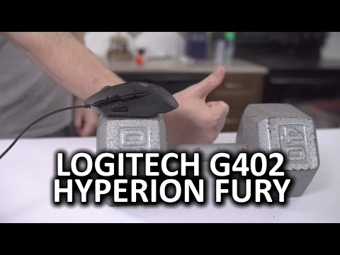 Logitech G402 Hyperion Fury Gaming Mouse - Inhumanly Fast