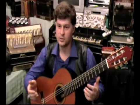 Sergey Gavrilov (guitar) plays