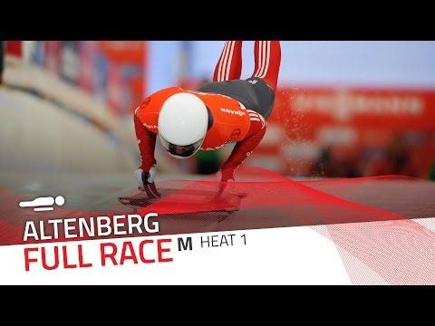 Altenberg   BMW IBSF World Cup 2015/2016 - Men's Skeleton Heat 1   IBSF Official