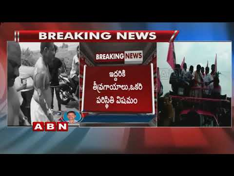 TRS leader Suman faces bad Experience at Indaram Village | Mancherial District