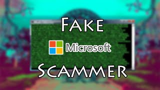 """SCAMMER PRETENDS TO BE MICROSOFT! [Fake CMD commands]( Tech Support Scams - """"Fake Microsoft"""")"""