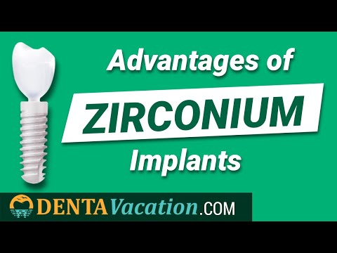 Advantages of Zirconium Dental Implants - Costa Rica
