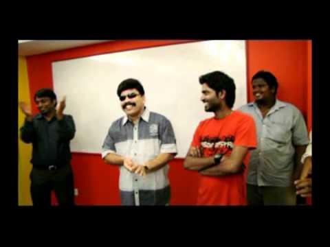 Power Star Srinivasan at Radio Mirchi Studios!