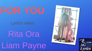 Download Lagu For you (Lyrics video) - Liam Payne, Rita Ora Gratis STAFABAND